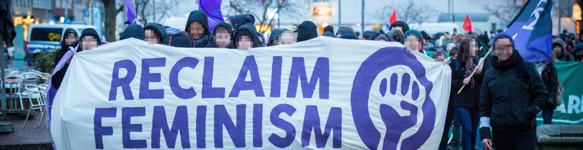 Demo zum Frauen*kampftag in Hannover