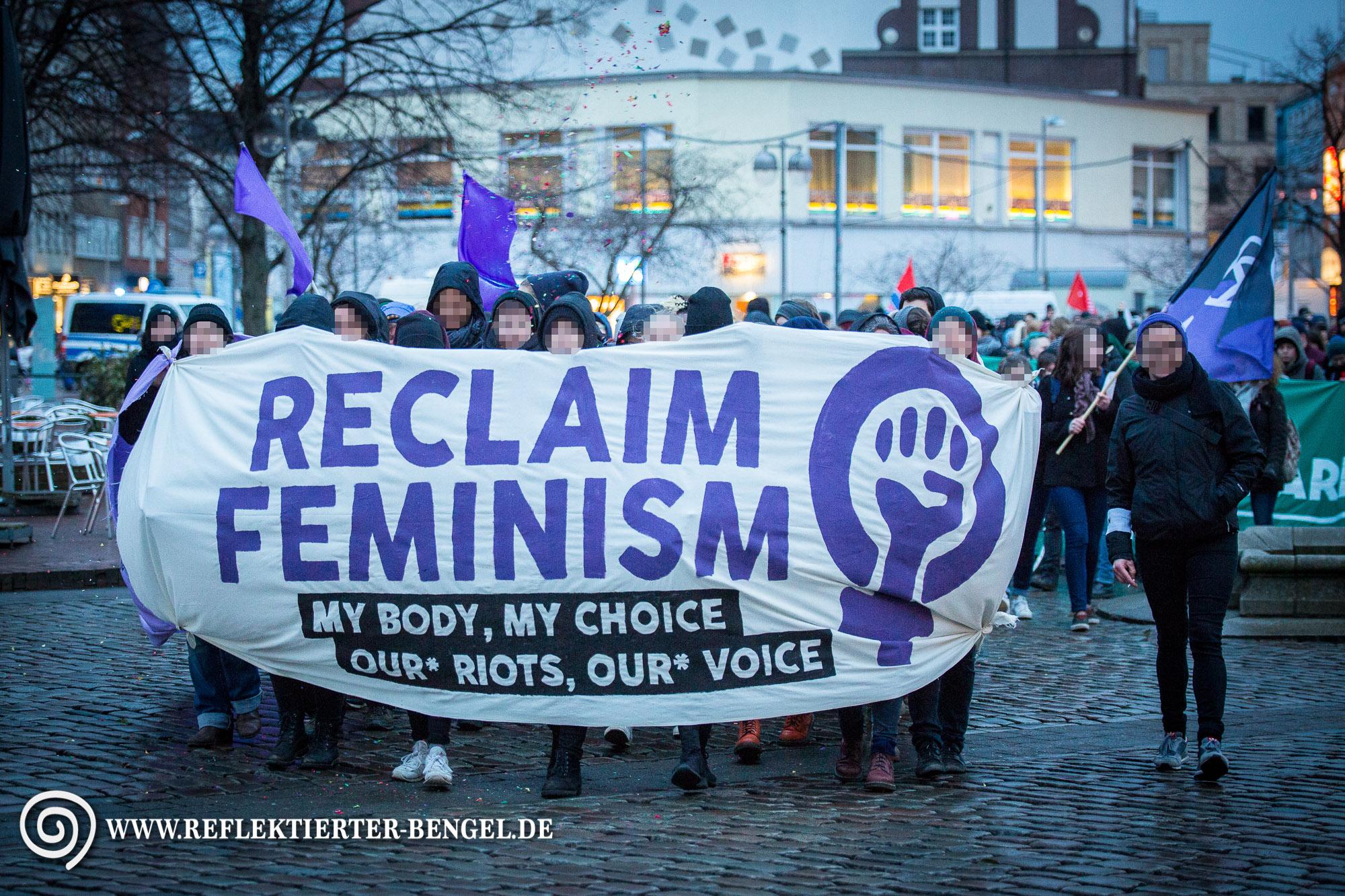 08.03.18 Hannover - Demo Frauenkampftag- Demo Frauenkampftag