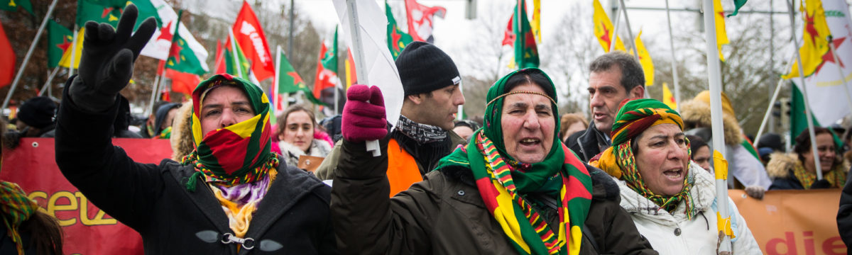 Tausende bei Newroz Demo in Hannover