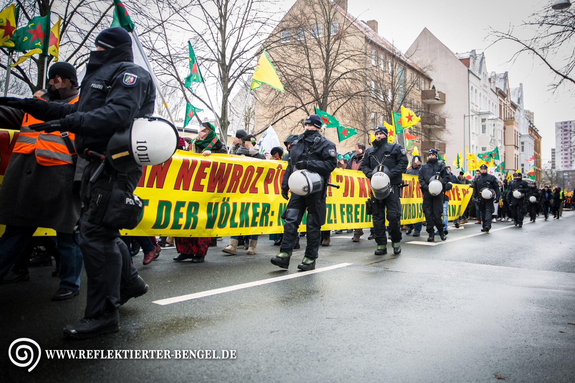 17.03.18 Hannover - Newroz Demo für Afrin