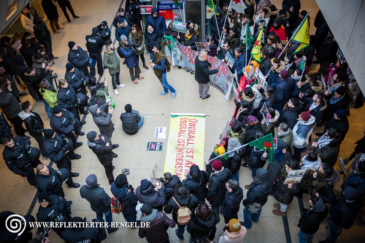 18.03.18 Hannover - Protestaktionen für Afrin