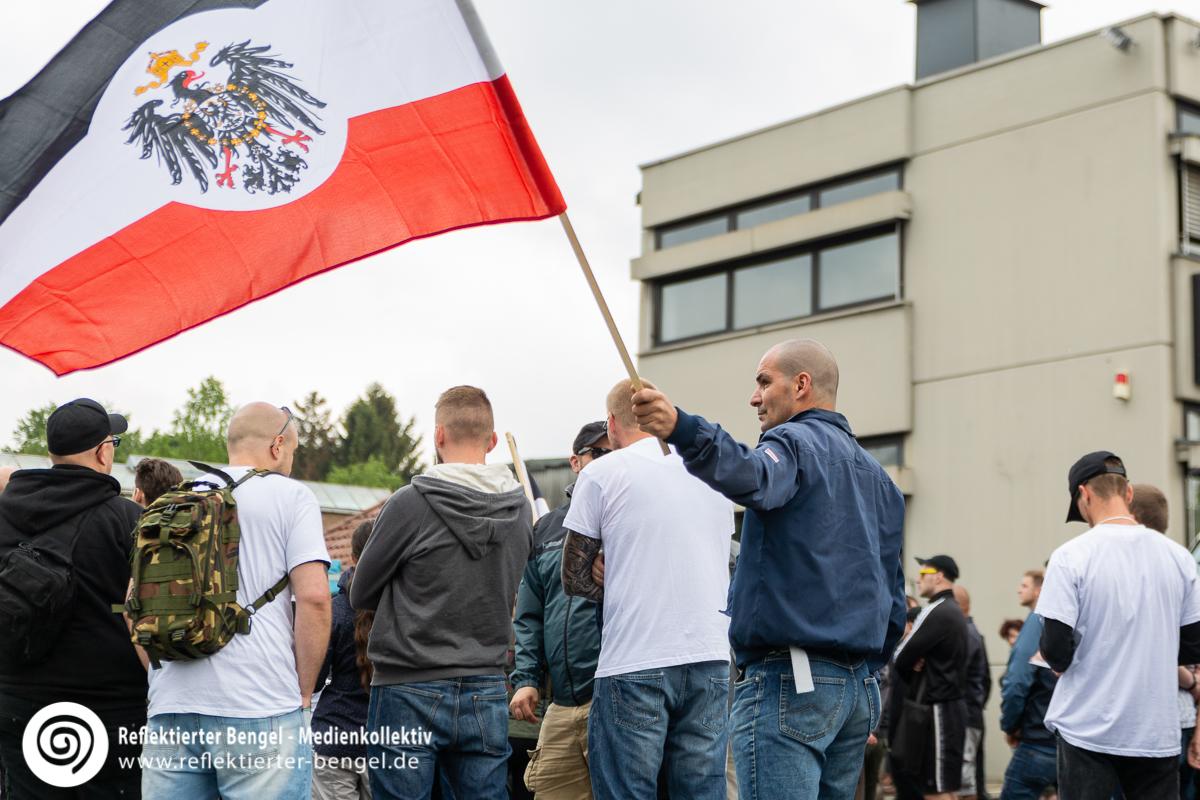 10.05.18 Bielefeld - Solidaritätsdemonstration für Ursula Haverbeck