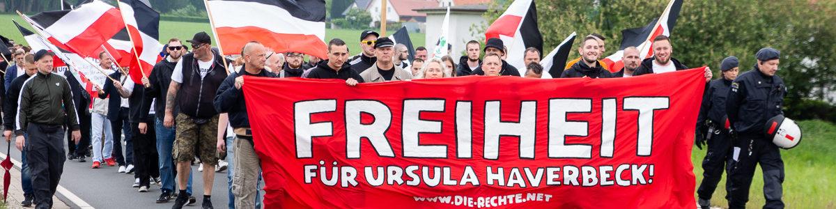 Neonazis fordern Freiheit für Holocaust-Leugnerin Haverbeck