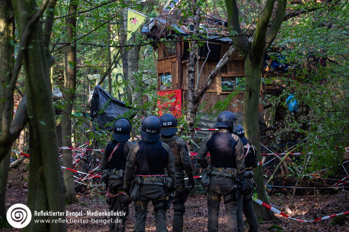 13.09.18 - Räumung Hambacher Forst