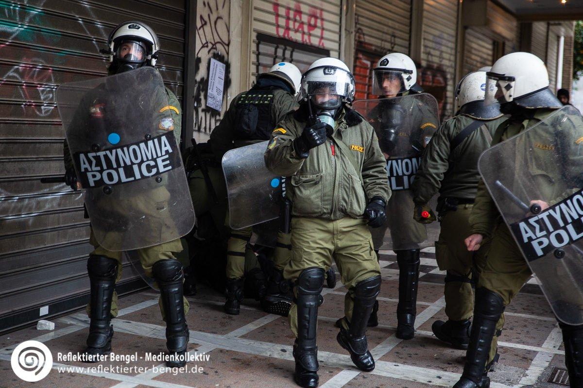 06.12.18 Athen - Schülerdemo Alexandros Grigoropoulos