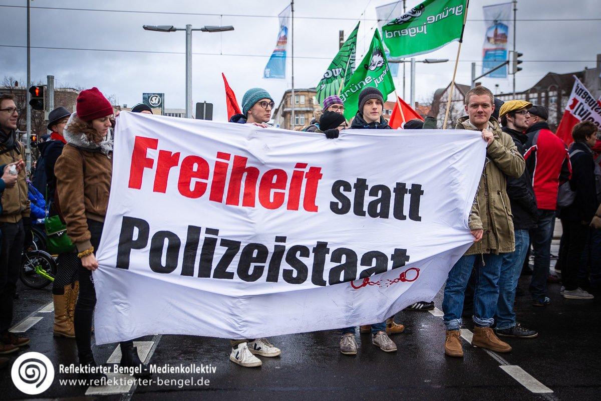 08.12.18 Hannover - Demo Polizeiaufgabengesetz.