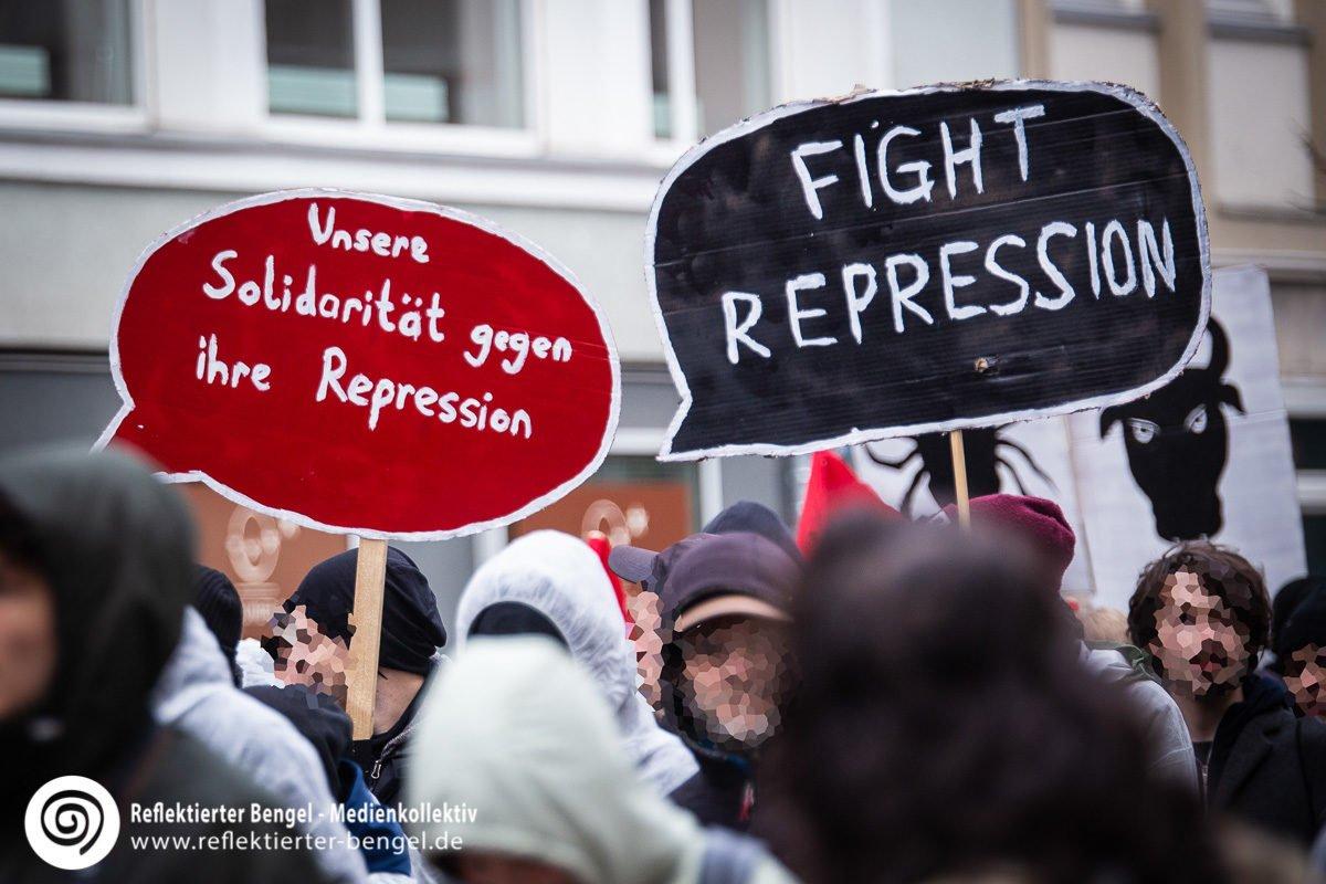 08.12.18 Hannover - Demo Polizeiaufgabengesetz