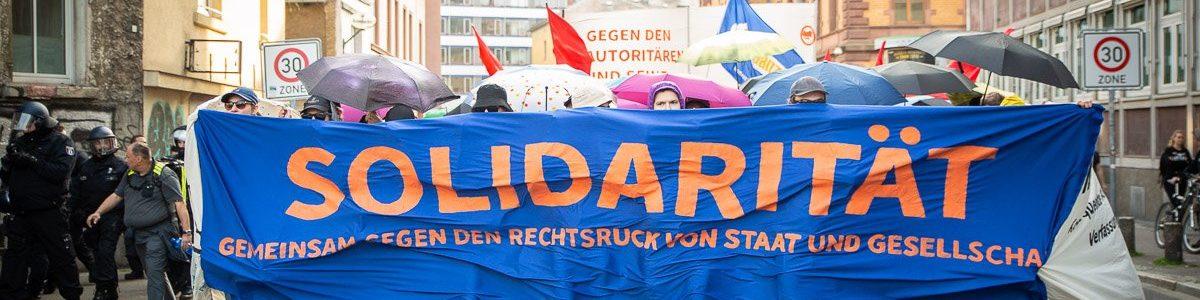 Frankfurt – Demo gegen Rechtsruck der Gesellschaft