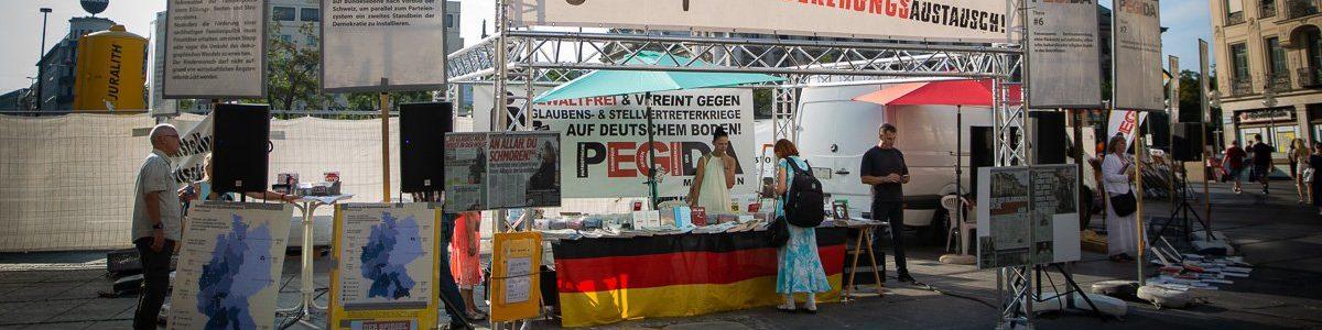 Pegida München kneift in Hamburg